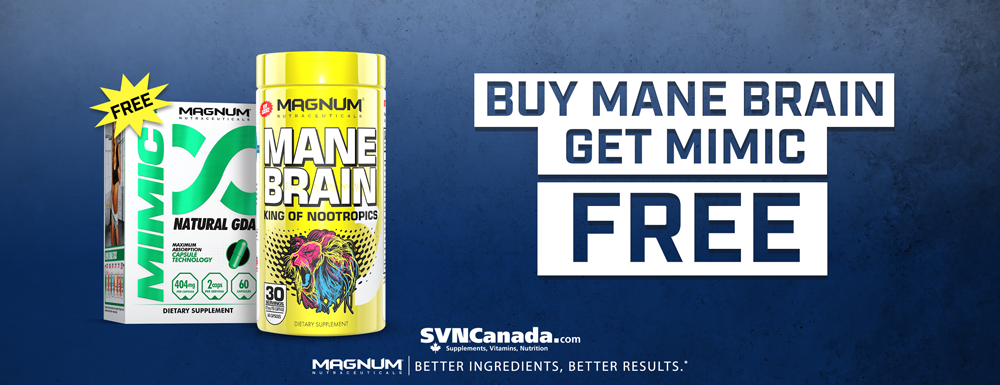 Get a FREE Mimic with each purchase of Magnum Mane Brain