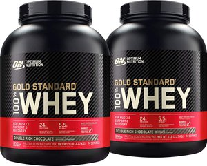 Optimum Nutrition Whey is the best whey to go! Great flavours that never disappoint. My personal favourite is double rich chocolate which to me tastes like a darker milk chocolate. With 24g of protein and an extra g of bcaa's this is the best whey on the market!Reviews: