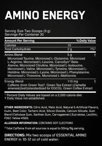 Image result for optimum nutrition essential amino energy nutrition