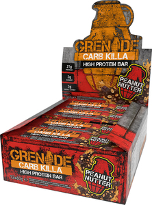 FITCRUNCH Protein Bar Grenade Carb Killa 12 Bars